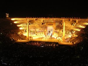 Aida at the Arena in Verona