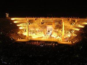 Aida at the Arena in Verona